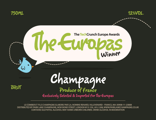 The Europas: The Winners Champagne