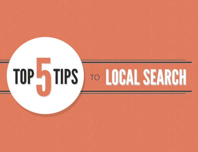 5 Top Tips to Local Search